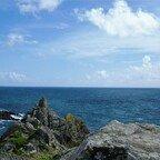 Raue und felsige Küstenlandschaft - Cornwall - Polperro