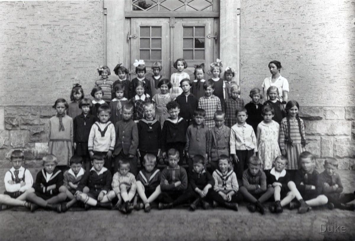 Einschulung 1932 - Königstädten - Jahrgang 1926