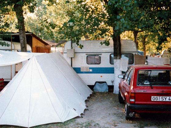 Camping - Torre Pedrera - Rimini - Italien - 1986