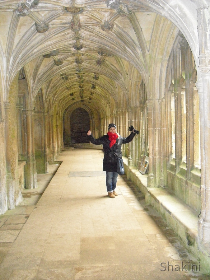 Lacock Abbey - Kreuzgänge - Harry Potter Filmkulisse