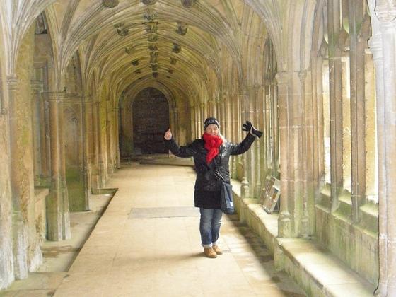 Lacock Abbey - Kreuzgänge - Harry Potter Filmkulisse