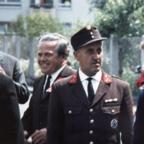 Feuerwehr Königstädten - 40. Jubiläum 5. bis 8.6.1970 - Partnerfeuer Ehrenkommandant von Königstetten, Österreich