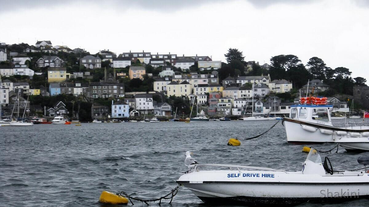 Mit der Fähre von Bodinnick zum Fowey - Cornwall