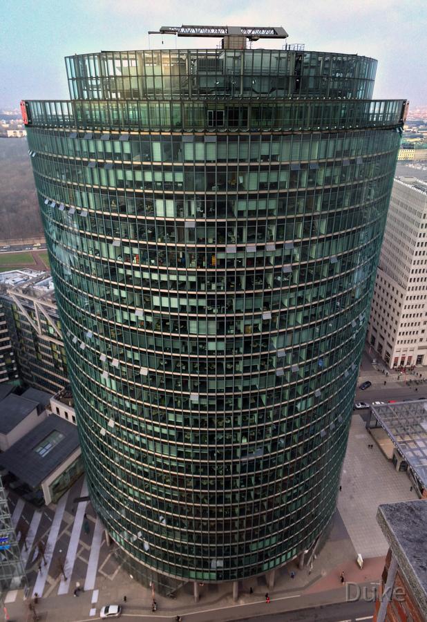 Deutsche Bahn Turm - Bahntower - Berlin