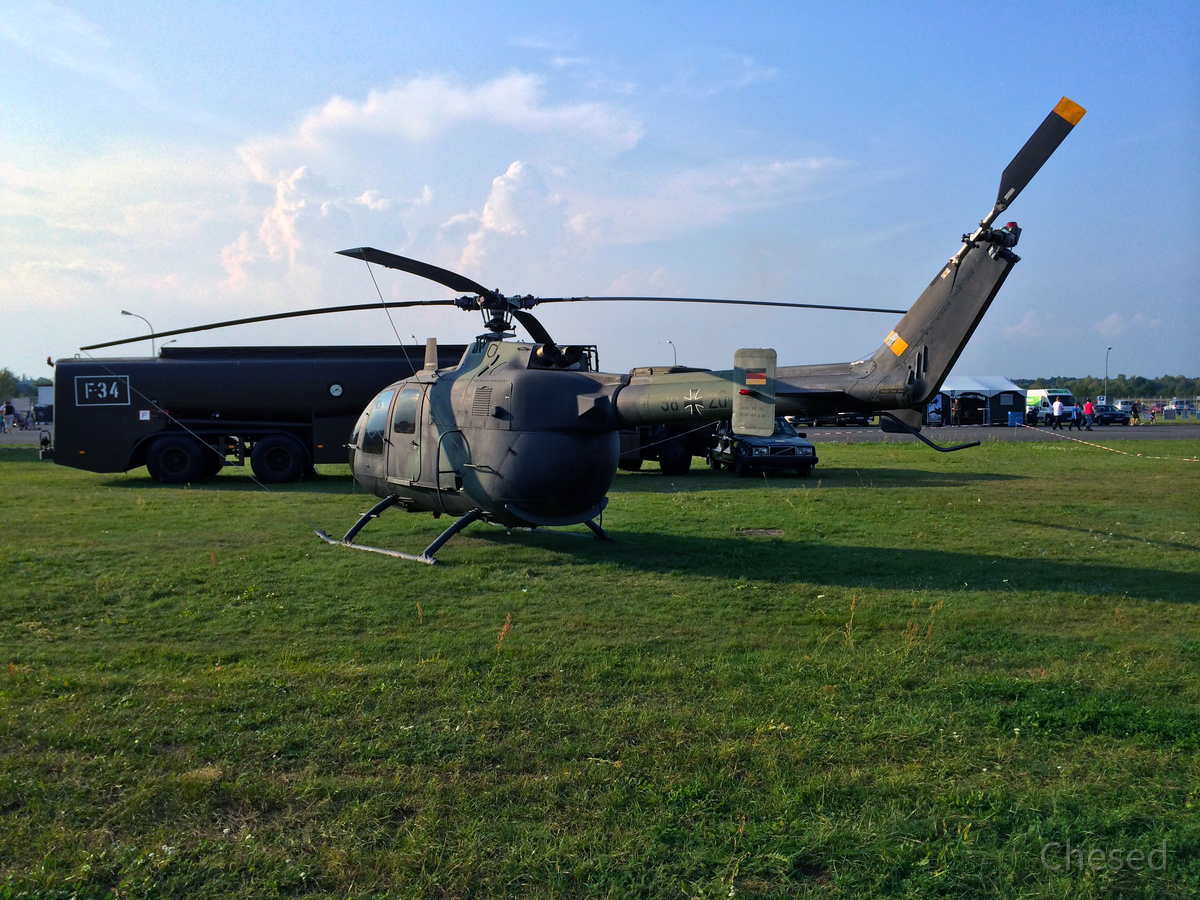 Eurocopter (MBB) Bo 105 M (VBH) - Luftwaffenmuseum Gatow