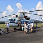 Mil Mi-8S Hip-C 9351 - Bundeswehr-Helikopter - Linke Seite