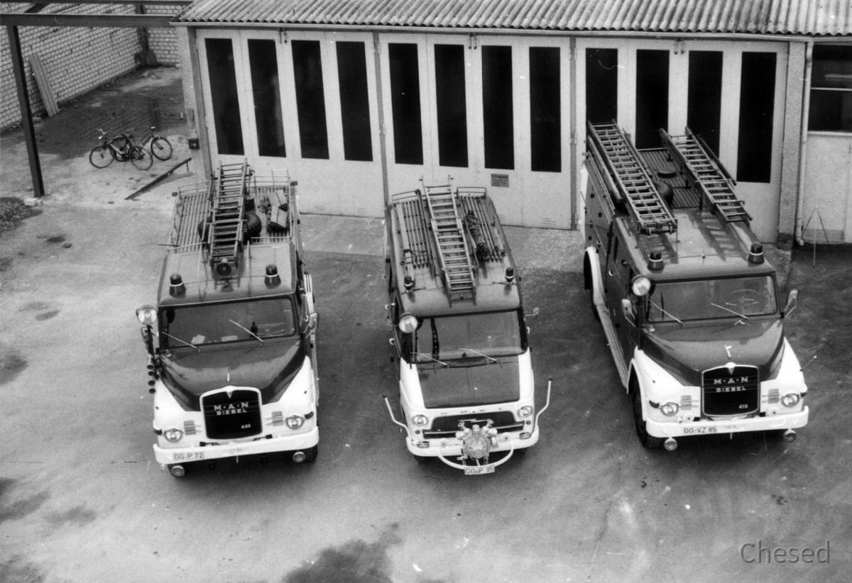 Freiwillige Feuerwehr Königstädten - Feuerwehrfahrzeuge 1970