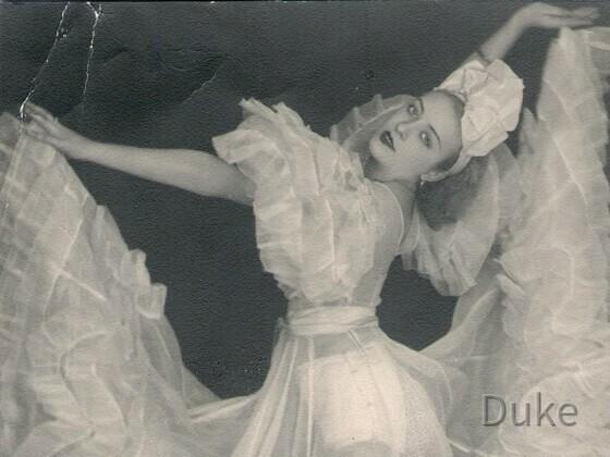 Primaballerina Jadwiga Wloch - Hedwig Wernecke - Polen - 1939