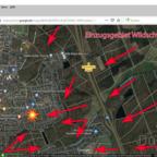 Einzugsgebiet der Wildschweine rund um Königstädten & Nauheim