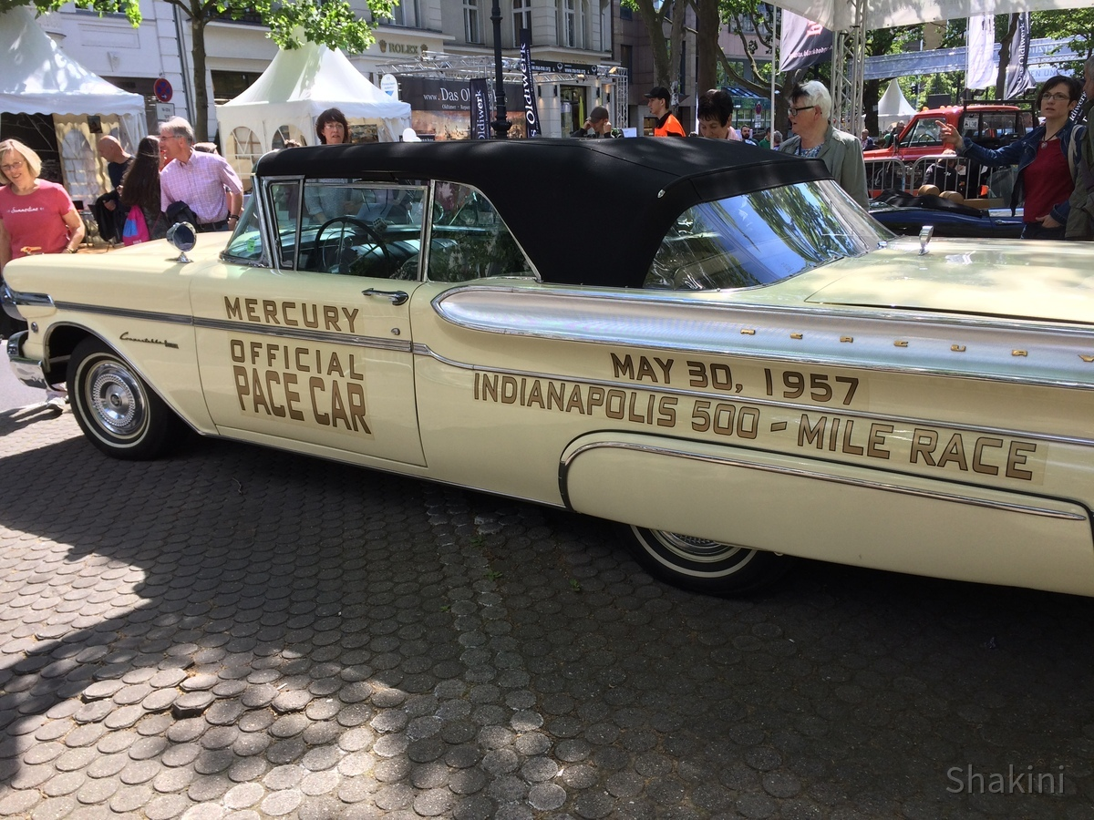 Mercury Pace Car Oldtimer Indianapolis