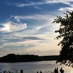 Rätselhafte Sonnenspiegelung - Real - Kein Fotoeffekt!