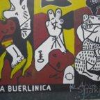 East Side Gallery - Berlin - Graffitis - La Buerlinica