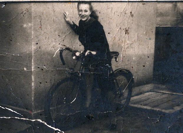 Speed Bike Girl Jadwiga Wloch - Poland - 1938