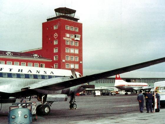 Convair CV 440 Metropolitan - Deutsche Lufthansa - Swiss Air - München-Riem Airport Munich-Riem