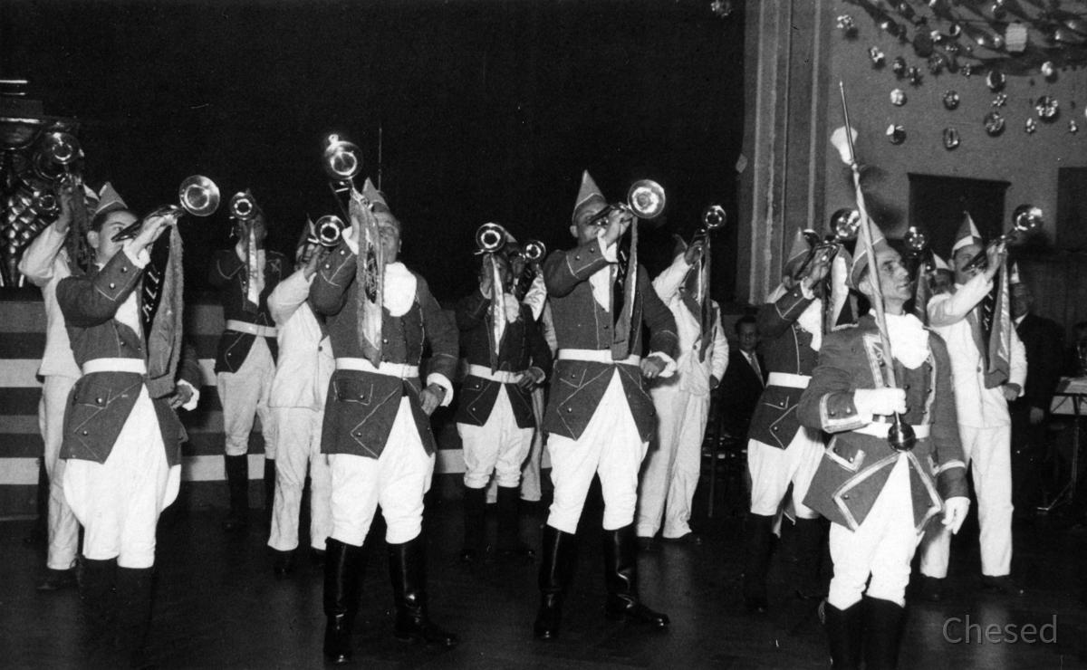 Feuerwehr Königstädten - Fanfarenzug - Fastnacht 1965