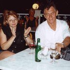 Angelika und Heinz auf Korfu