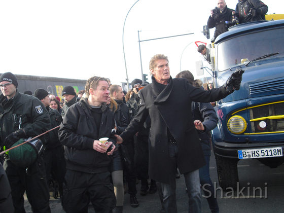 David Hasselhoff - Berlin - East Side Gallery - 09