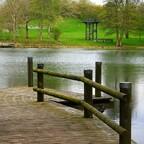 Wassersteg - Oase der Ruhe im Britzer Garten