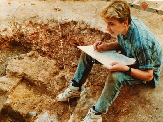 Ireczek - bei archäologischen Ausgrabungen in Montpellier  ✟