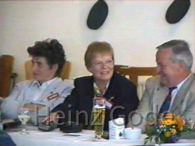 Klassentreffen 2001 Zentralschule Lehnin - Marika, Jutta, Jürgen