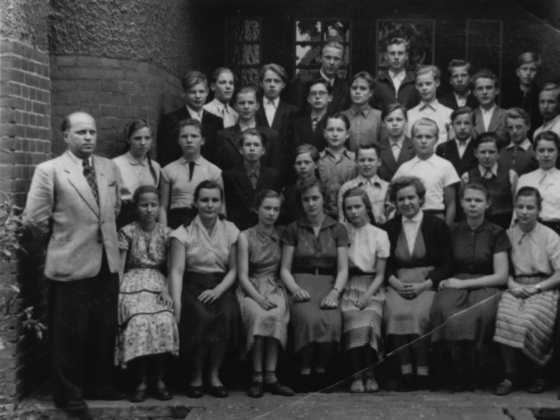 Meine Klasse 8a 1956 Zentralschule - Lehnin-Zauch Belzig