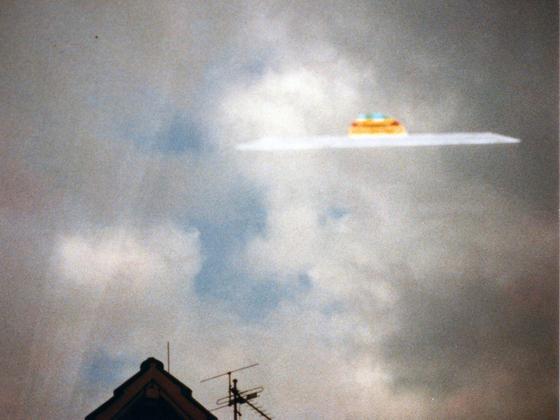 UFO in Rüsselsheim-Königstädten gesichtet - 1981