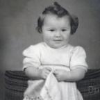Schönes Babyfoto von Brigitte Friedrich 1949