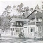 Königstädter Waldhaus an der B42 - L3482 - 1951