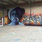 Berlin - Teufelsberg - Graffiti - Albert Schweitzer