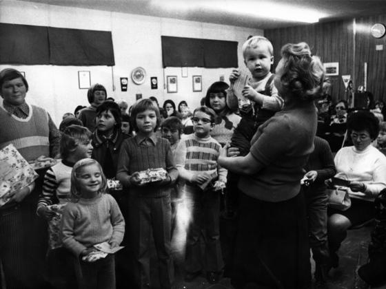 Feuerwehr Königstädten - Der Feuerwehr Nikolaus ist da! - 1973