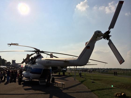 Mil Mi-8S Hip-C 9351 - Bundeswehr-Helikopter - Heck