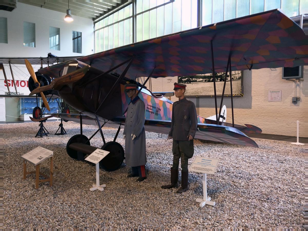 Fokker D.VII - Jagdflugzeug 1914