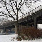 Stillgelegte S-Bahn am Wernerwerk - Berlin