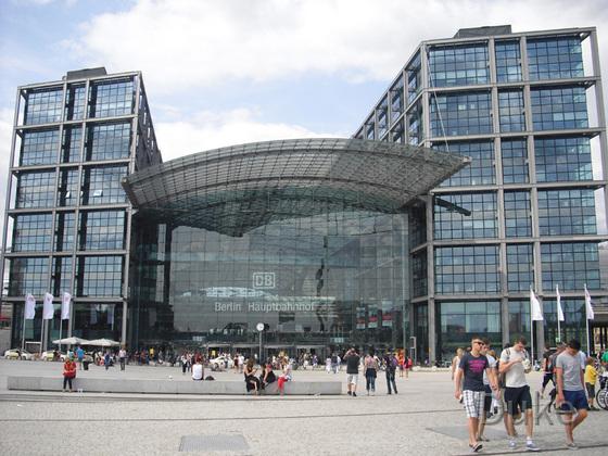 Berlin - Hauptbahnhof - 2013