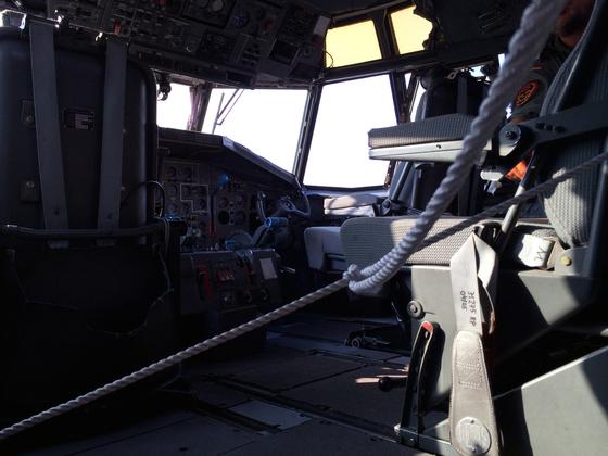 Transall C-160 (50-56) - LTG 63 - Cockpit