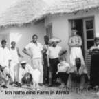 Heinz Gode auf seiner Farm in Afrika