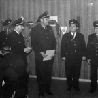 Feuerwehr Königstädten - Ehrung - 1971