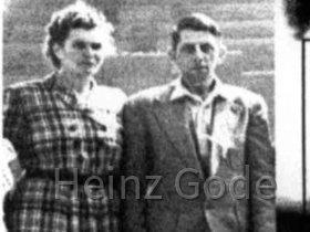 Johanna und Willy Gode - Eltern von Heinz