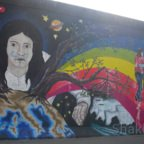 East Side Gallery - Berlin - Graffitis - Weltkugel - AKW