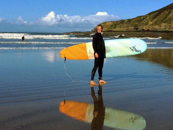 Surfen in Saunton Beach