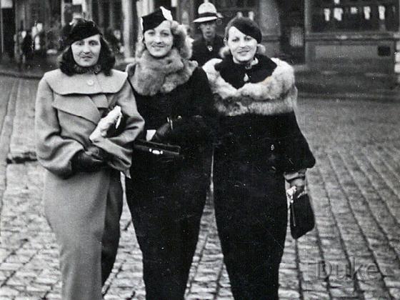 Primaballerina Jadwiga Wloch - Hedwig Wernecke Spaß 1939