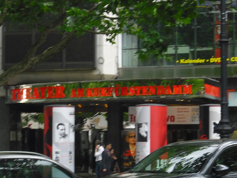 Theater am Kurfürstendamm in Berlin
