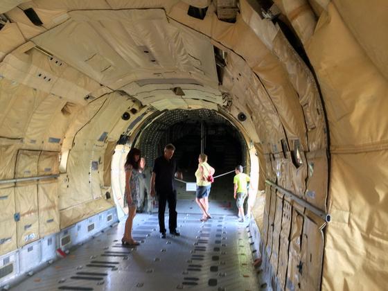 Transall C-160 (50-56) - LTG 63 - Frachtraum