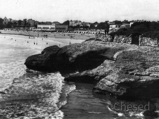 Royan 1940 - PONTAILLAC - Les Falaises - La Plage