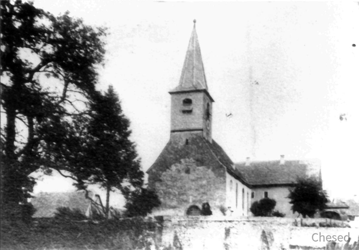 Evangelische Kirche Königstädten 1702 - 1901