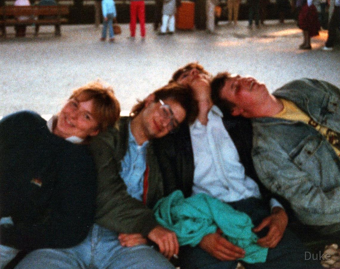 Zugreise nach Ost-Berlin - 1988 - Tagestour