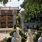 Betende Mönche - Pagode Chúa Linh Thúu