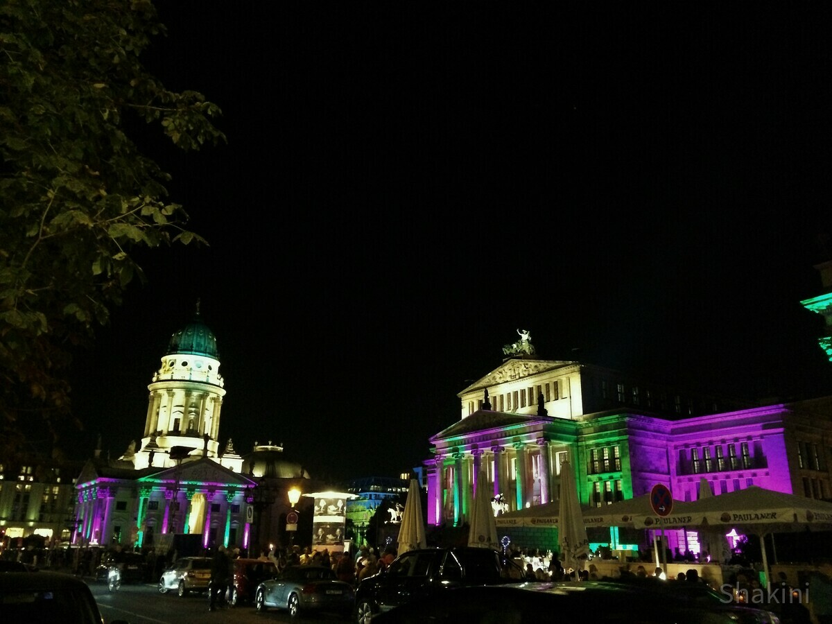 Festival of Lights am Gendarmenmarkt