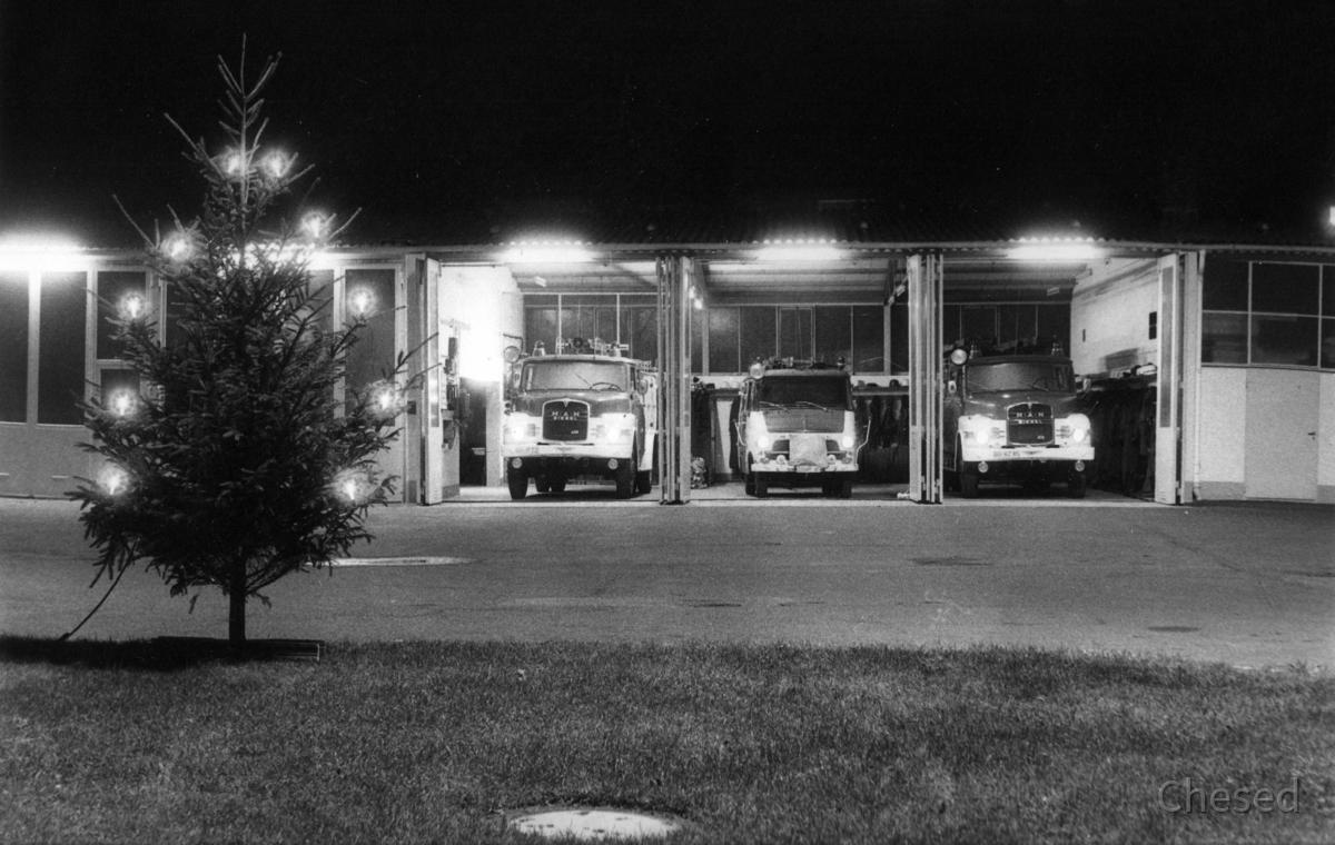 Freiwillige Feuerwehr Königstädten - Weihnachten 1970