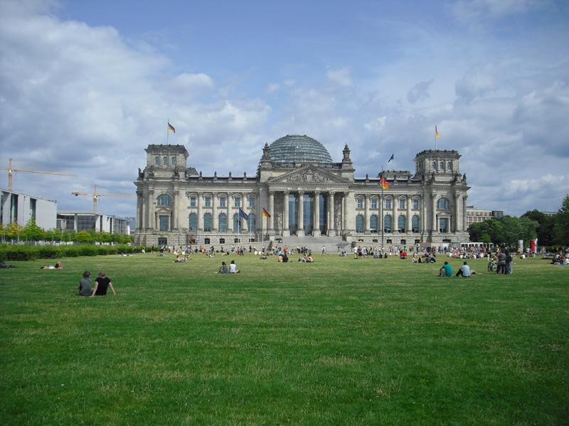 Berlin - Berliner Reichstag - 2013